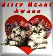 Kitty Heart Award!