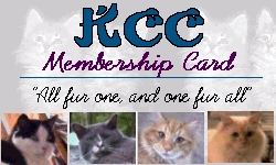 KCC Membership Card